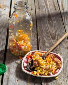 Pickled Corn-Bacon Relish