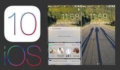 Mejora la privacidad de tu iPhone con iOS 10 desactivando los Widgets y notificaciones de la pantalla de bloqueo. #iOS10 #Widgets #Notificaciones #Apple #iPhone #iPad #PantallaBloqueo downloadsource.es