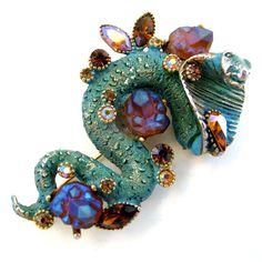 Vintage HAR Cobra Pin / Brooch    From Ruby Lane Shop 2Hearts Uptown Jewelry