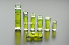 Spirit level vials