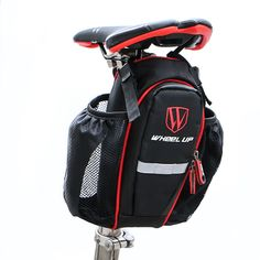 Cheap bolsa bicicleta, Buy Quality seatpost bag directly from China bag mtb Suppliers: WHEEL UP Pocket Bike bicicle Seatpost Bag MTB Road bicycle Seat Rear Tail Pouch Bottle Bags New 900D waterproof bolsa bicicleta