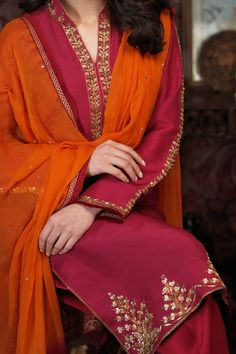Aabroo (Two Piece) Beautiful Pakistani Dresses, Pakistani Formal Dresses, Pakistani Dress Design, Pakistani Clothing, Fancy Dress Design, Stylish Dress Designs, Two Piece Formal Dresses, Formal Dresses With Sleeves, Stylish Dresses For Girls