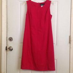 Cute business dress Hot pink dress Sag Harbor Dresses Midi