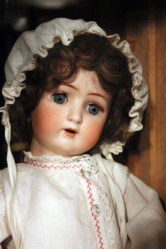 German doll. Suomenlinna Toy Museum, Helsinki, Finland.