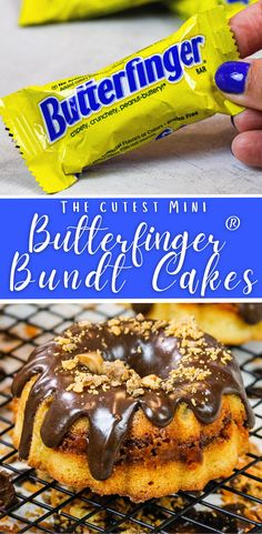 Mini Butterfinger® Bundt Cake Recipe