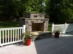 You can get the plans for this awesome DIY fireplace from backyardflare.com. Lots of different styles to choose from.
