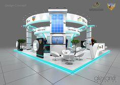 Exhibition stand, exhibition designe on Behance