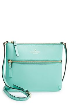 Free shipping and returns on kate spade new york 'cedar street - tenley' crossbody bag at Nordstrom.com. A front zip pocket details a slender crossbody bag crafted in lavish Saffiano leather and fitted with an adjustable strap.