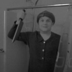Blurry but me as Norman for Halloween several years ago. #horror #psycho #horrormovies #hitchcock #halloweencostume #halloween #31daysofhalloween by captainmurphy