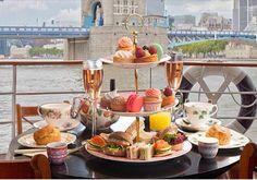 Thames afternoon tea