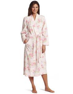 Carole Hochman Women's Bourban Rose Blossoms Robe $85.00