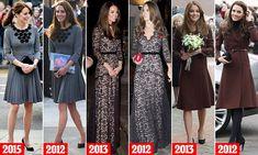 Duchess of Cambridge's trusty fashion archive revealed