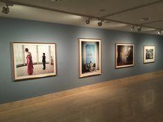 Vogue like painting. Thyssen Museum Bornemisza. Madrid July.