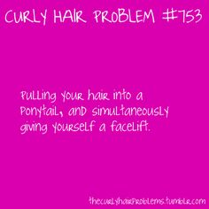 Curly hair problem #753