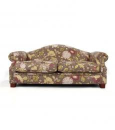 Purple floral sofa R7,000.00