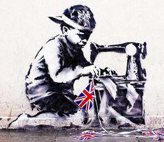 Banksy's Slave Labour mural