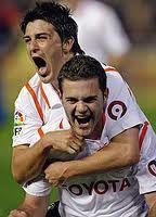 Villa and Mata good old times at Valencia