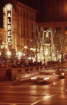 Fountain Square, Cincinnati, OH in 1960ties