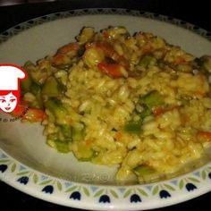 Risotto asparagi e gamberi - La cucina di nonna Rita