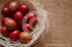 Photo about Easter background with red eggs. Image of eggsn, celebration, holiday - 140228672 Egg Photo, Easter Backgrounds, About Easter, Free Stock Photos, Celebration, Eggs, Seasons, Holiday, Red