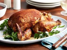 Get Slow-Cooker Whole Chicken Recipe from Food Network