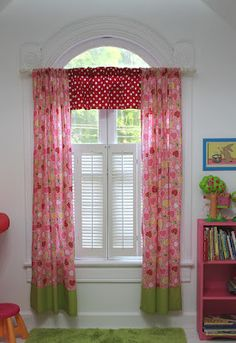 Riley Blake Designs Blog: Project Design Team Wednesday~Easy Custom Curtains and Valance Free tutorial!