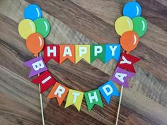 Happy Birthday Sign Discover Rainbow balloon cake bunting Circus Cake Bunting balloon themed Decoration First Birthday Happy Birthday Cake Topper Rainbow balloon cake bunting Circus Cake Bunting balloon themed Decoration First Birthday Happy Happy Birthday Cake Topper, Diy Birthday, Birthday Party Decorations, Birthday Parties, Birthday Bunting, Balloon Birthday, Circus Birthday, Circus Party, Birthday Celebrations