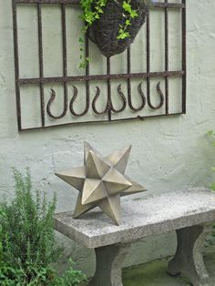 Kenroy Home Garden Dimensional Star with sandstone finish
