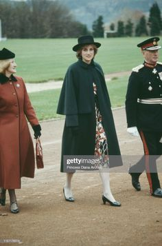 Diana, Princess of Wales in Chesterfield, November She is wearing a maternity dress by Donald Campbell. Get premium, high resolution news photos at Getty Images Princess Diana And Charles, Princess Diana Death, Princess Diana Fashion, Princess Diana Pictures, Royal Princess, Princess Of Wales, Mario Testino, Prince Harry Diana, 12 November