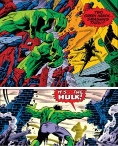 The Peerless Power of Comics!: Cap! Bucky! The Hulk! Hydra! Steranko!