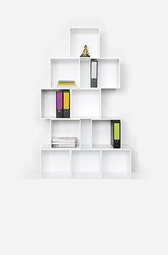 Schön Die Regalsysteme Von Cubit® Sind Modular Und Zeigen Viele Farben. Die  Module Sind Für Verschiedene Formate Geeignet Und Lassen Sich Individuell  Anordnen.
