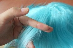 How to Dye a Synthetic Wig (with Pictures) - wikiHow