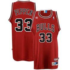 4399cdad345 Scottie Pippen Chicago Bulls Hardwood Classics Swingman Throwback Jersey by  Adidas