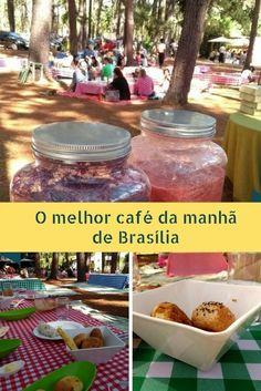 Café da manhã em Brasília  Jardim Botânico de Brasília
