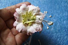 Kartkowy Świat Gosi: Jak robię kwiaty jabłoni