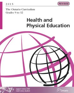 Here's the new Health curriculum that's currently mentioned in the news.pdf format only Physical Education Curriculum, Health And Physical Education, Ministry Of Education, Special Education, Importance Of Mental Health, Ontario Curriculum, Core French, French Resources, News Health