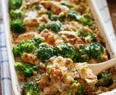 creamy chicken quinoa and broccoli