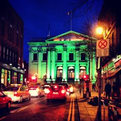 "City Hall Dublin - St Patricks's Weekend. Want to visit #Dublin? Include this in your #travel #bucketlist #bucket #list. Checkout ""City is Yours"" http://www.cityisyours.com/explore to discover amazing bucket lists created by local experts."