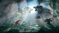 Darkness and Whimsy: The Art of Fairy Tale Game Woolfe