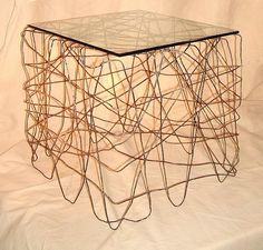 Wired Coffee Table by Martin Metal Designs, via Flickr