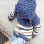 Osloanorakken fra PicklesOslo Baby Jumper, Baby Knitting, Lana, Men Sweater, Baby Knits, Pullover, Children, Sweaters, Ideas