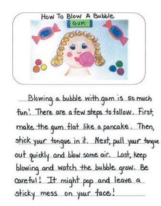 How To Mentor Texts Gr. 2: How To Blow A Bubble, Clean Your Room & Score A Goal
