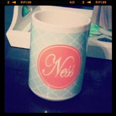 Personalized Mugs With Photos or Text by DesignsInHeels on Etsy, $12.00- let me create a gift for any occasion