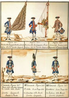 The Spanish Infantry Guards and Walonas de Felipe V | Alabarda Blog