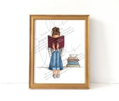 The Fine Art of Staying In Print by HNIllustration on Etsy
