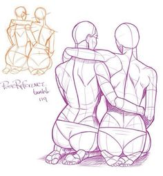 Poses. Couple