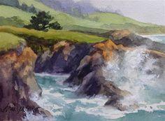 "Daily Paintworks - ""Wild Watercolor"" - Original Fine Art for Sale - © Erin Dertner"