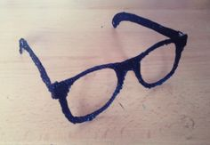 #3Doodler#glasses#black#plastic <3 :3
