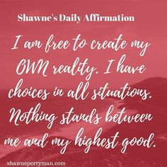 Your daily affirmation.  Double Tap and Comment if you agree.   Tag a friend who needs to see this Follow @shawneperryman Follow @shawneperryman Follow @shawneperryman #shawnesaid #beyourownBOSS #motivate #motivational #affirmations