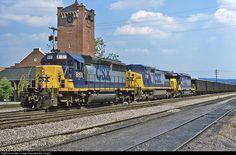 Kingsport Tennessee, Csx Transportation, Trains, Train